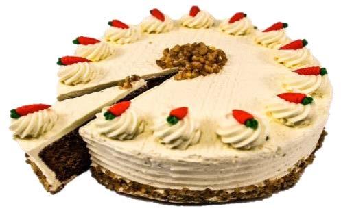"Carrot Walnut Cake (10"")"