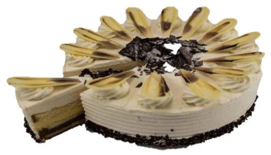 """Chocolate Vanilla Torte (10"""")"""
