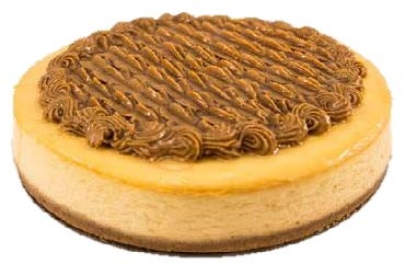 "Caramel Baked Cheesecake (10"")"