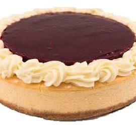 "Raspberry Baked Cheesecake (10"")"