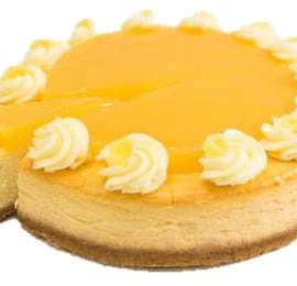 "Lemon Baked Cheesecake (10"")"