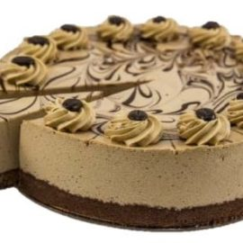"Cappuccino Mousse Cake (10"")"