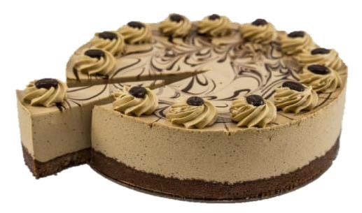 """Cappuccino Mousse Cake (10"""")"""