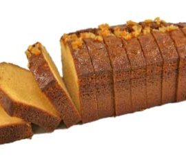 Fruit Breads Sliced