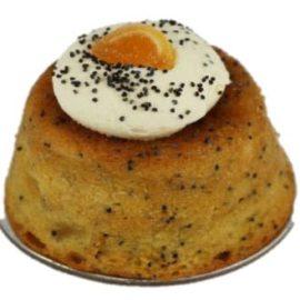 Orange & Poppy Seed Cake Petit