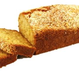 Coconut & Mango Bread