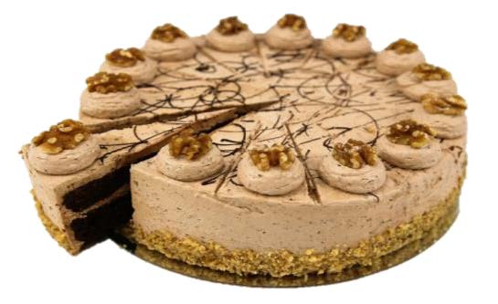 "Flourless Choc Walnut Torte (10"")"