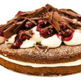 "Flourless Black Forest Torte (10"")"
