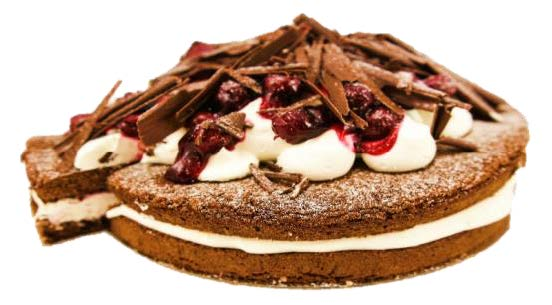 "Flourless Black Forest Torte (10"")"