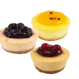 Mixed Petit Cheesecake