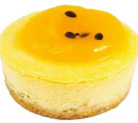 Passionfruit Petit Cheesecake