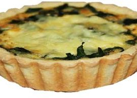 Quiche Spinach (Single Serve)