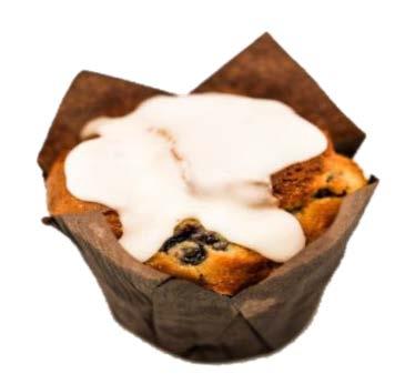 Blueberry Lemon & Yoghurt Muffin
