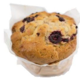 Raspberry & White Chocolate Muffin