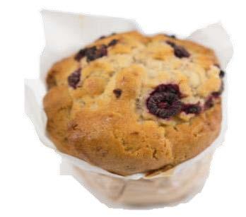 Raspberry & White Chocolate Muffin