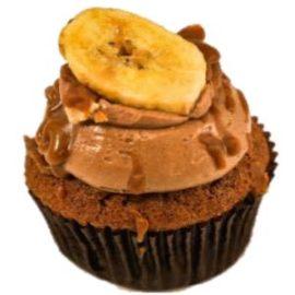 Banana Dulche De Leche Cupcakes
