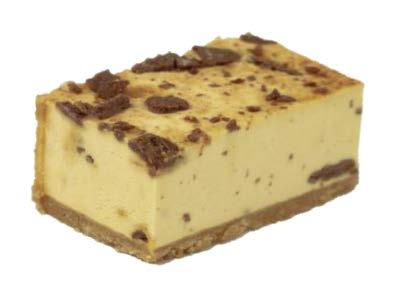 Honeycomb Mousse Slice