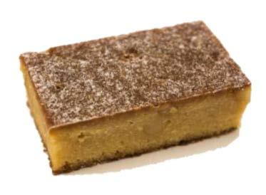 White Choc Macadamia Brownie