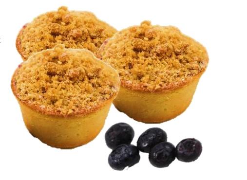 Apple & Blueberry Crumble Tart