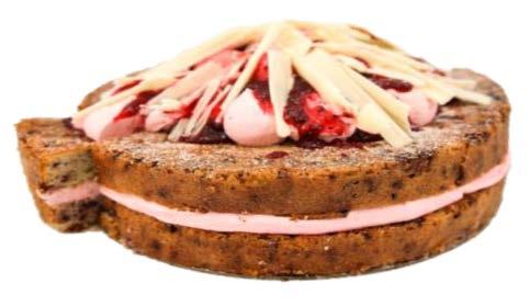 """Flourless Rasberry Mousse Cake (10"""")"""